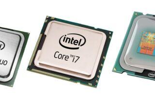 Как узнать количество ядер процессора