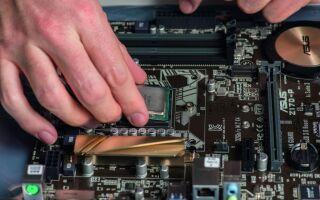 Как снять процессор с материнской платы