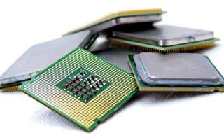 Основные характеристики процессора