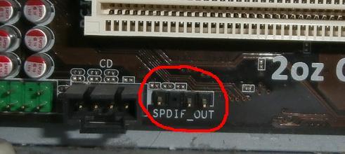 что такое spdif out