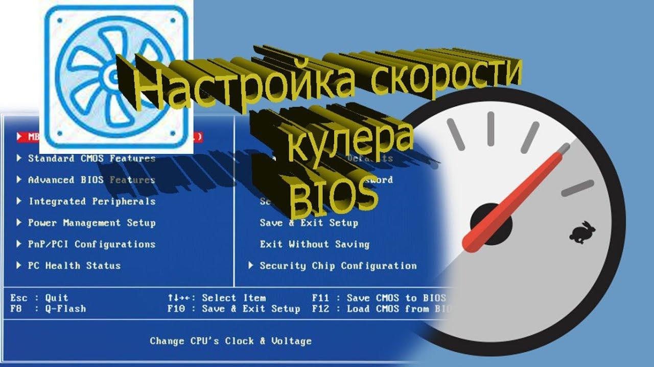 Увеличение скорости кулера процессора